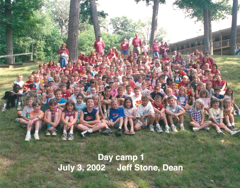 Day Camp 1, July 3, 2002 Jeff Stone, Dean