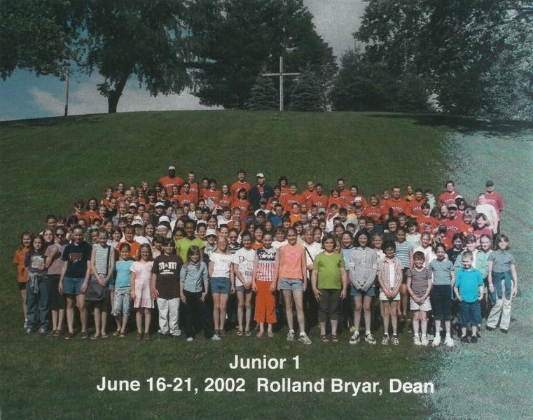 Junior 1, June 16-21, 2002 Rolland Bryar, Dean