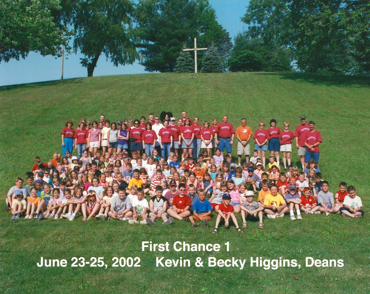 First Chance 1, June 23-25, 2002 Kevin & Becky Higgins, Deans