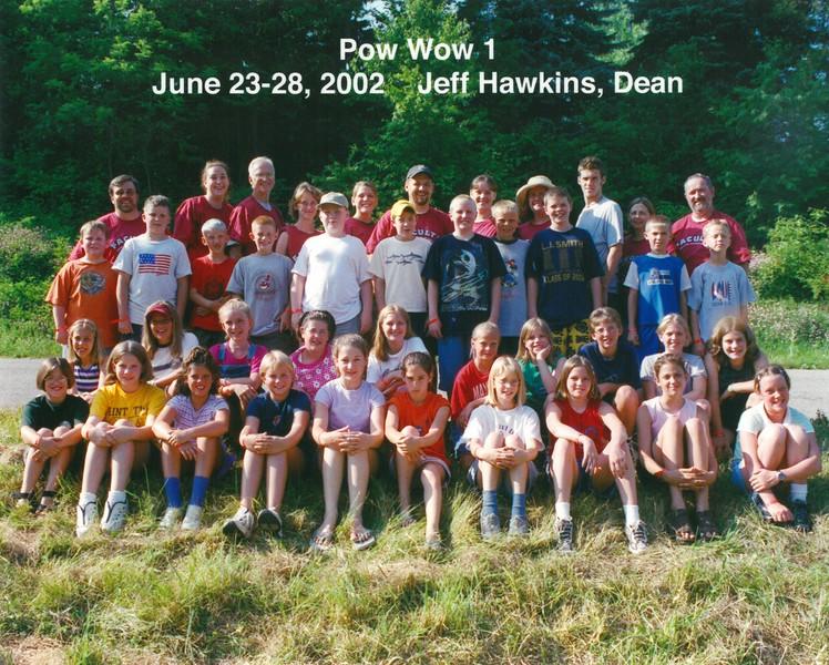 Pow Wow 1, June 23-38, 2002 Jeff Hawkins, Dean