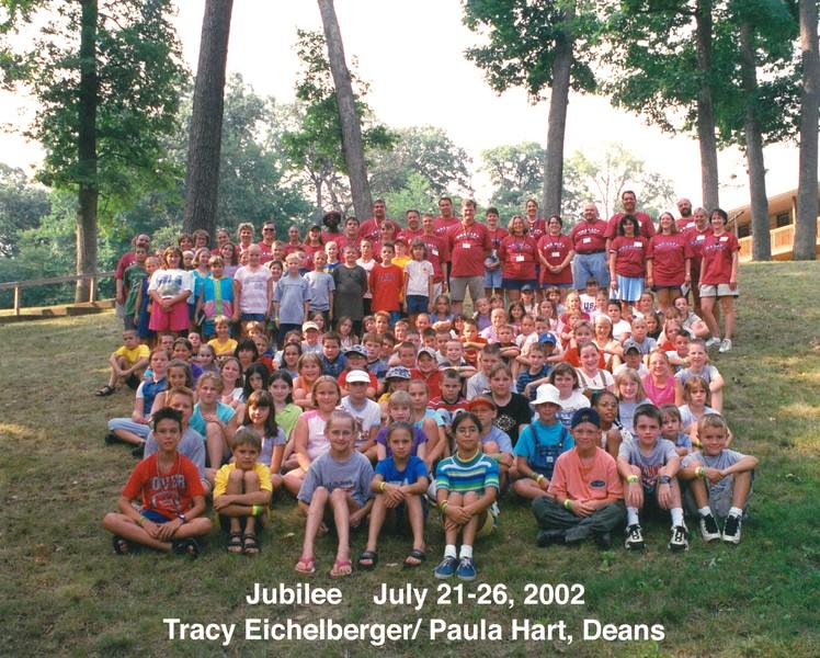 Jubilee, July 21-26, 2002 Tracy Eichelberger & Paula Hart, Deans