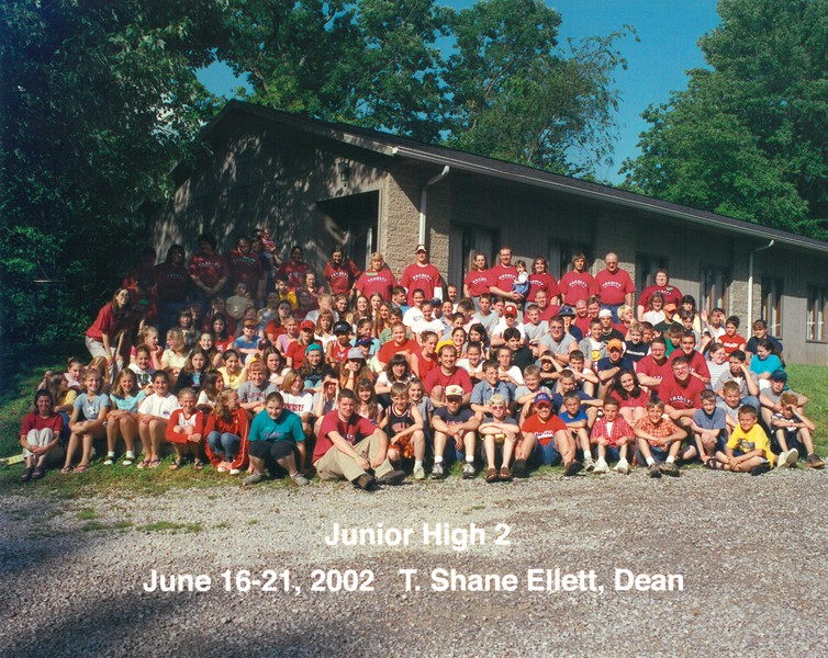 Junior High 2, June 16-21, 2002 T Shane Ellett, Dean