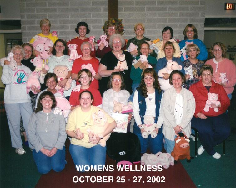 Women's Wellness Retreat, October 25-27, 2002 Barb Eisaman, Dean