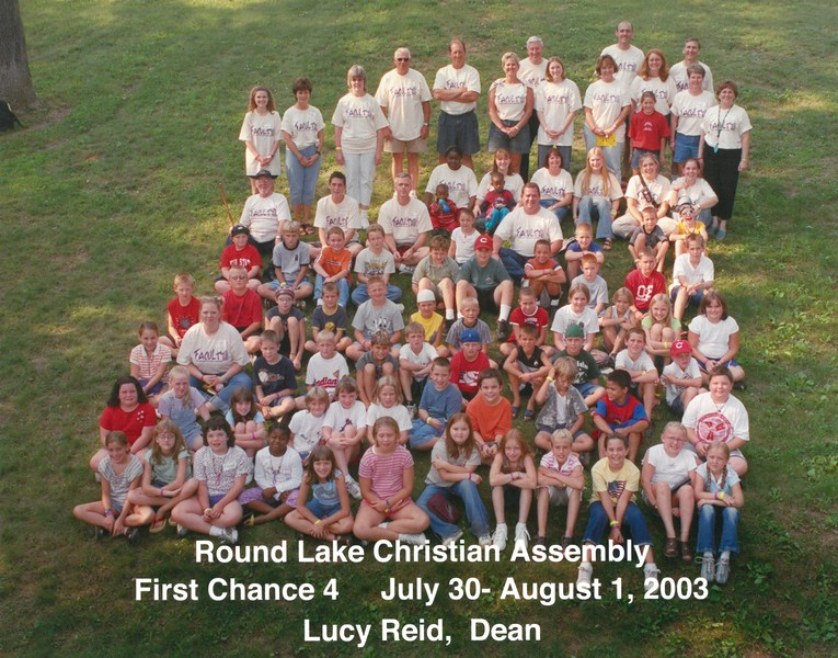 First Chance 4, July 30-August 1, 2003 Lucy Reid, Dean