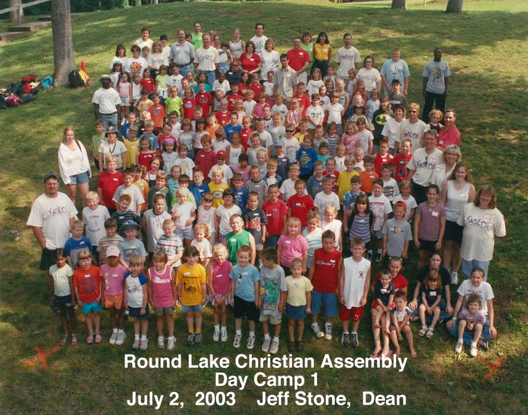 Day Camp 1, July 2, 2003 Jeff Stone, Dean