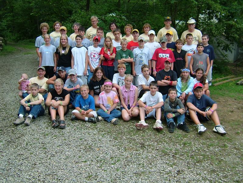 Jr  High Wilderness 4, July 18-23, 2004 Charles, Hahlen, Dean