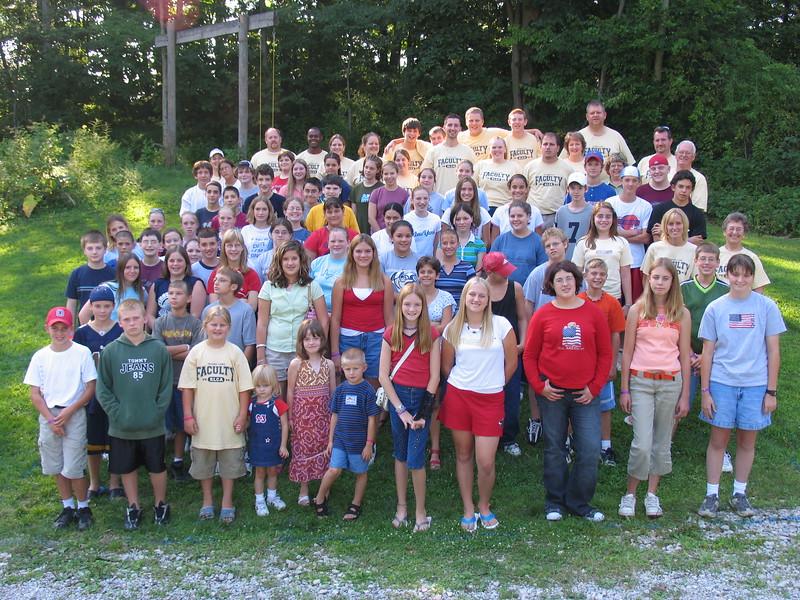 Junior High 5, August 1-6, 2004 Jerold Tear, Dean