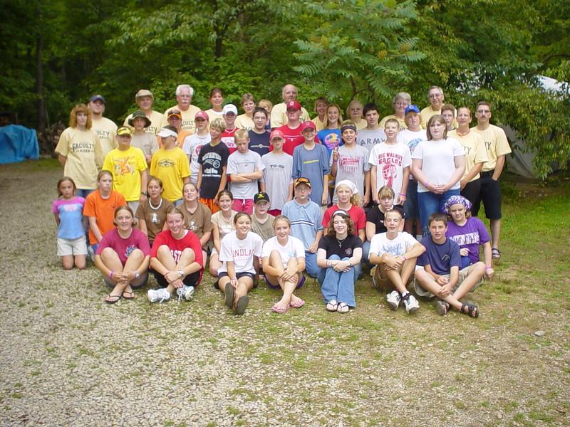 Junior High Wild 3, July 11-16, 2004 Tim Fisher, Dean