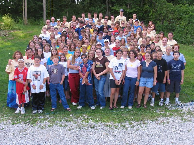 Junior High 6, August 8-13, 2004 T Shane Ellett, Dean