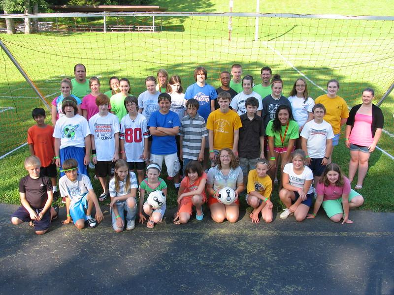 6-8 Grade Soccer Camp