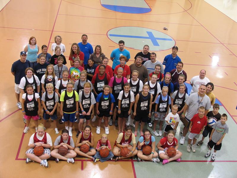 6-8 Grade Girls Basketball