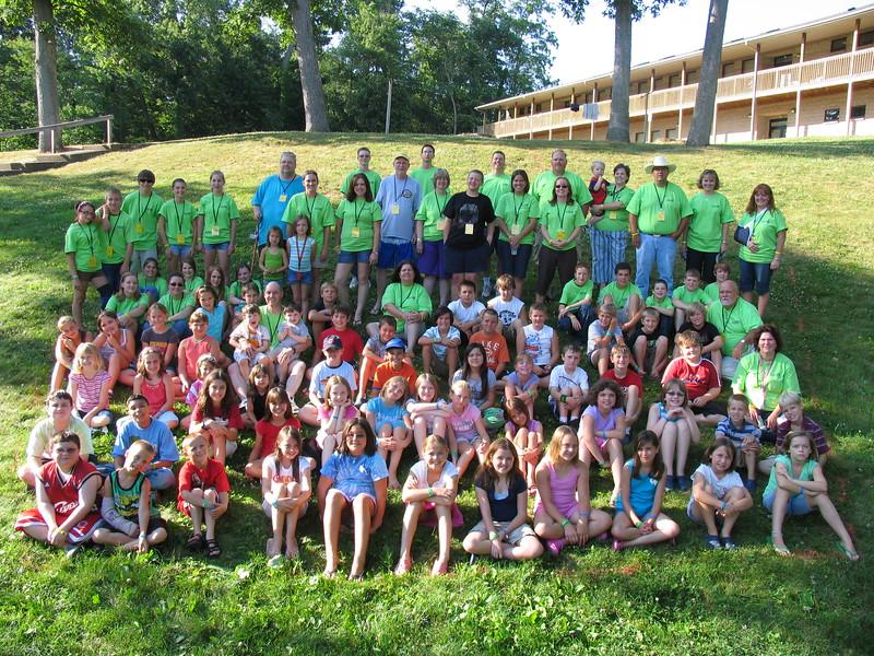 4th Grade Camp