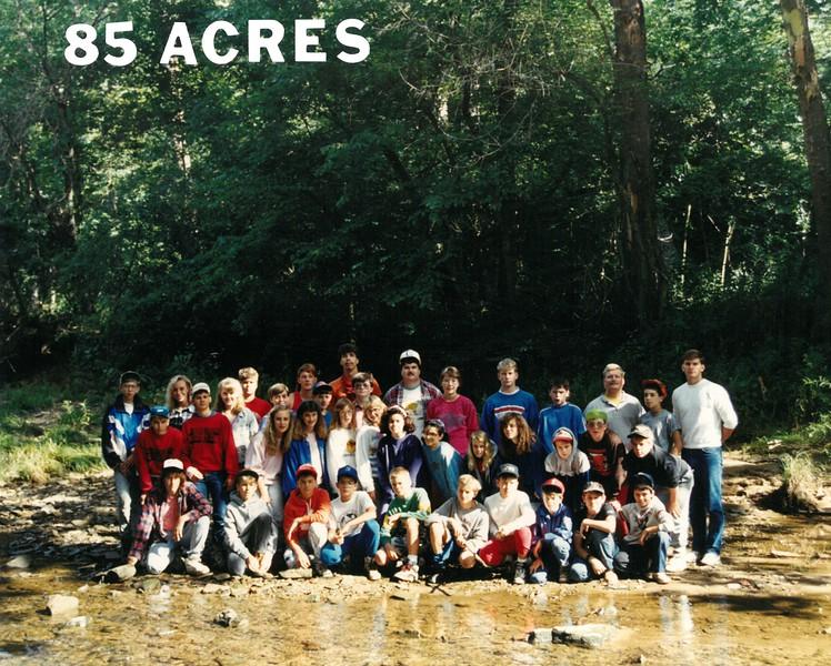Junior High Wilderness 2, 1990 Doug Swan, Dean