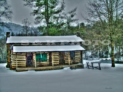 CRK Cabin Snow