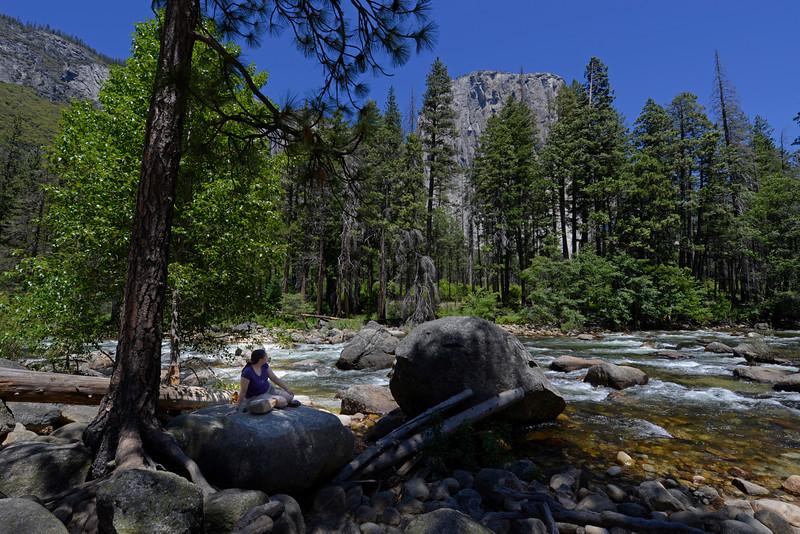 Yosemite Sienna on rock_KTK4859
