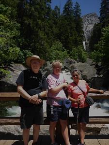 Yosemite Gary Casey Vicki at bridge Vernal Falls P1010569
