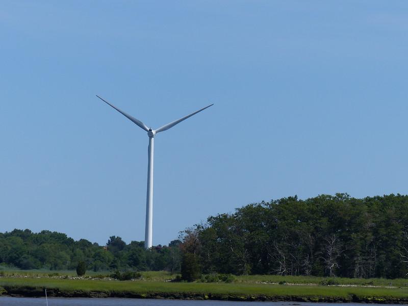 2 bladed wind turbine?