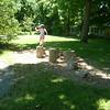 Mastering the Stump Jump.