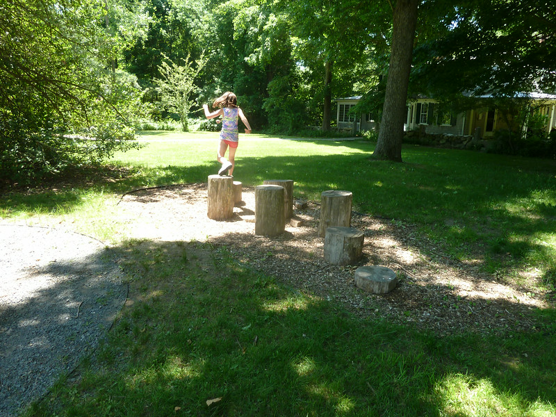 Mastering the Stump Jump.