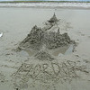 Let the sand castle building begin!...