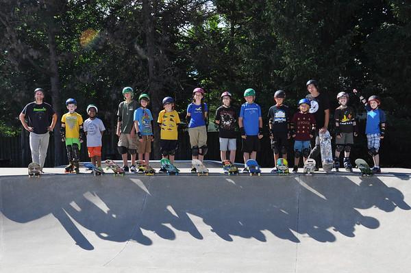 Skateboarding Camp 2013