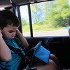 driving from Cedar Point Ohio to Camp Nanny<br /> listening to movie cars on Aunt Robin's kindle<br /> August 29th, 2012