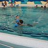 Nate's swimming class