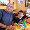 Thursday evening dinner at Mexican restaurant with Watts
