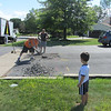 What a nice afternoon surprise.<br /> Mr. Tom's driveway patch.<br /> Great afternoon entertainment
