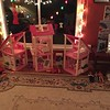Auntie Robin's Barbie house is all set up to surprise Emma