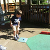 awesome little golfer<br /> Nate got a hole in one, right after I put the camera away