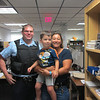 Officer Justin, Nate, and Aunt Robin