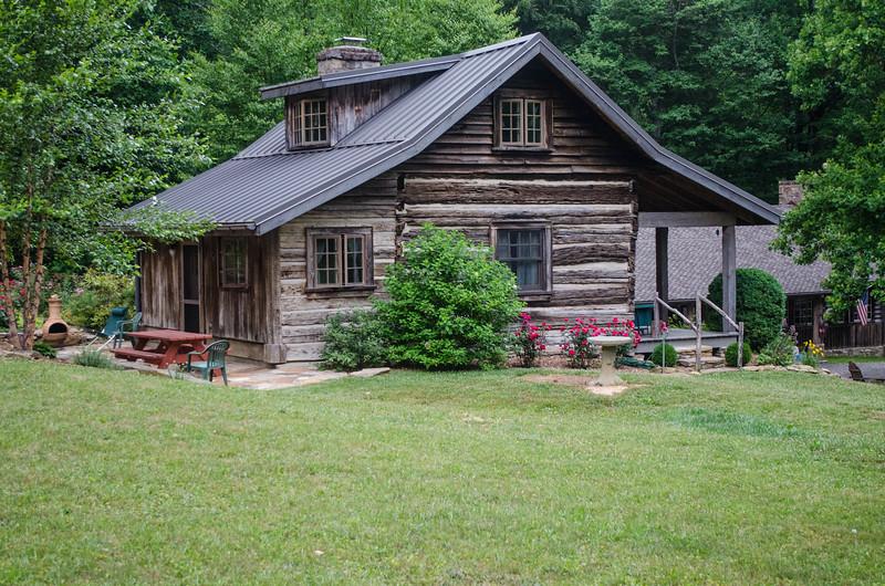 restored Hoffman cabin