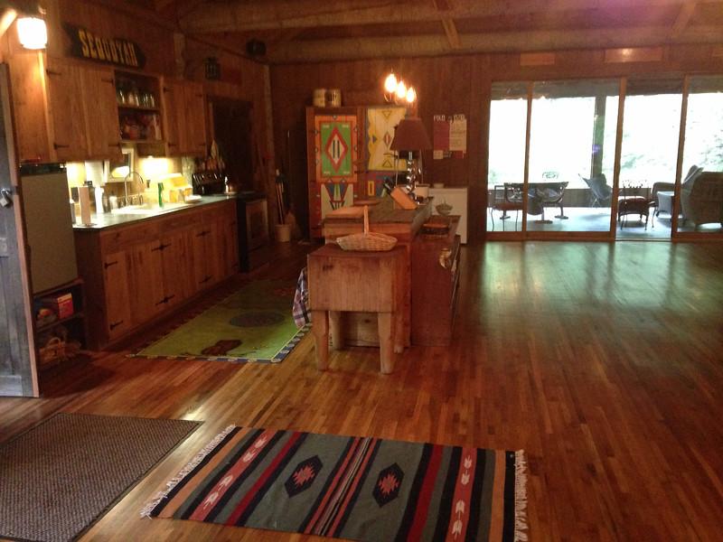 interior restored lodge