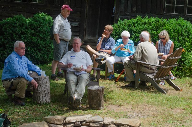 lunch gathering
