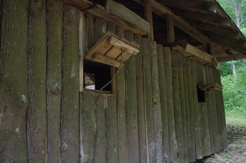 Cabin 9 detail