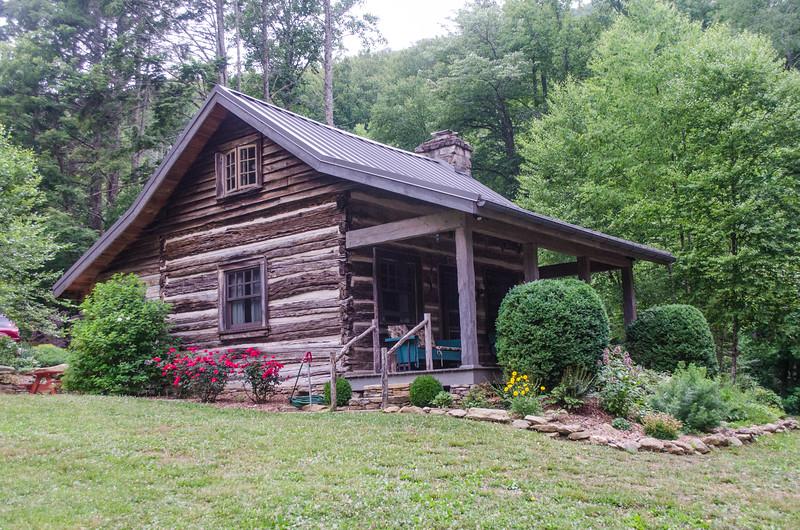 Hoffman cabin restored