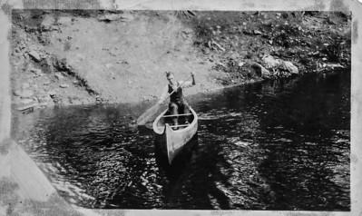 Wayne Bramlett, Camp Sequoyah lake, 1924