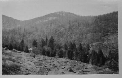 site of future Camp Sequoyah, 1923