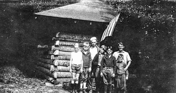 Sequoyah, Wayne's cabin group