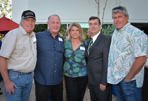 Mark Brink, Dave Cameron, Bobbi Brink, Joel Anderson, friend