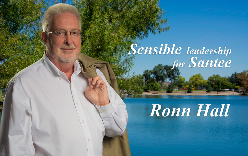 Ronn Hall Santee Lakes with tag