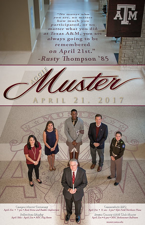 2017 Aggie Muster Poster