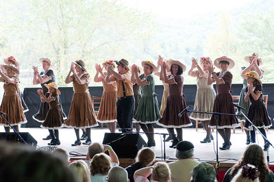 The rest of the pictures are of clog dancers performing...