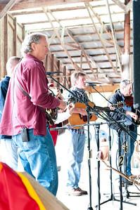 Folk band performing.