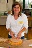Julie, aka RoboWeaver.  This was Julie's first class on Nantucket basketry.