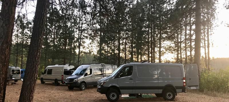 NorCal Sprinter Campout 2018