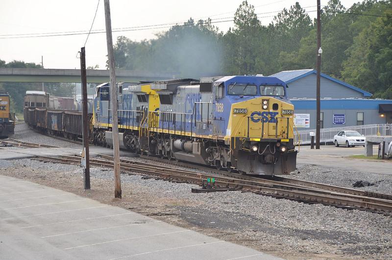 4270 – CSX westbound freight.