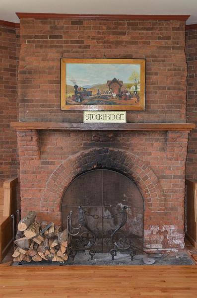 Stockbridge RR Station. Beautifully restored!