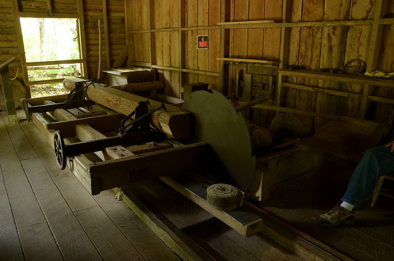 4477, 4479, 4486, 4495, 4518, 4520 – Mabry Mill. Still creaking after all these years. Wonderfully restored and maintained glimpse into the early years of America. The mill ground grain for a set price, or for a percentage of the grain. In the spring, when the water was running high, it became a wood mill, cutting and shaping logs into more useful shapes. Very complicated sluce built to supply water to the water wheel. The pair of ducks in the pond were having a good time with each other!